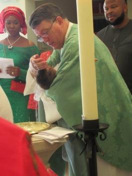 Emmanuela Chimamanda Ofoegbu Baptism